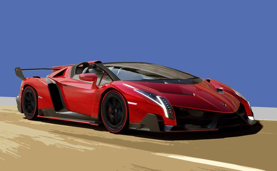 Lamborghini Veneno Roadster 740 Horsepower 7 Speed Over The Top