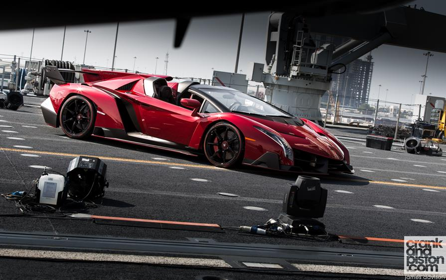 Lamborghini Veneno Roadster | 740 Horsepower 7-Speed Over-The-Top ...