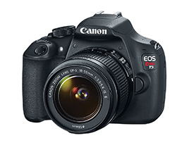 Canon Rebel T5 Front