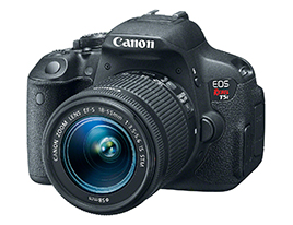Canon Rebel T5i Front