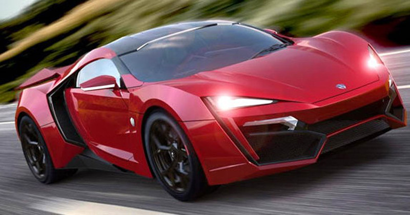 lykan hypersport by w motors third most expensive car. Black Bedroom Furniture Sets. Home Design Ideas