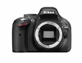 Nikon D5200 Front No Lens