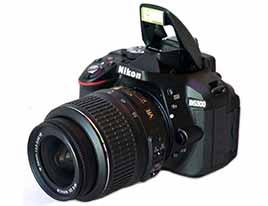 Nikon D5300 Side