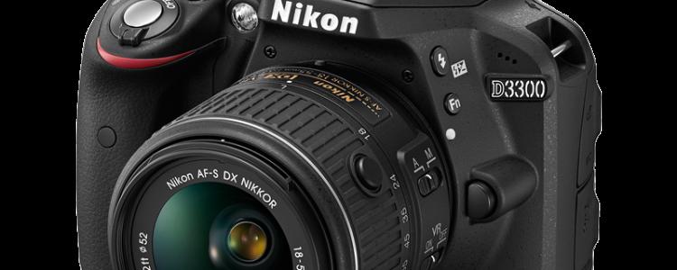 Nikon D3300 Front