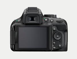 Nikon D5200 Back