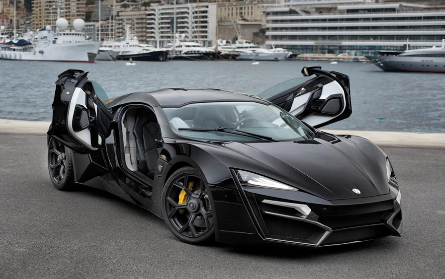 Lykan Hypersport By W Motors Third Most Expensive Car