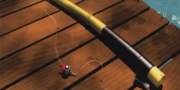 The fishing rods