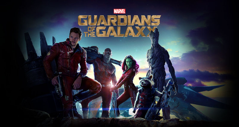 guardian of the galaxy movie poster
