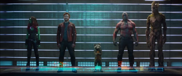 guardian of the galaxy movie the team