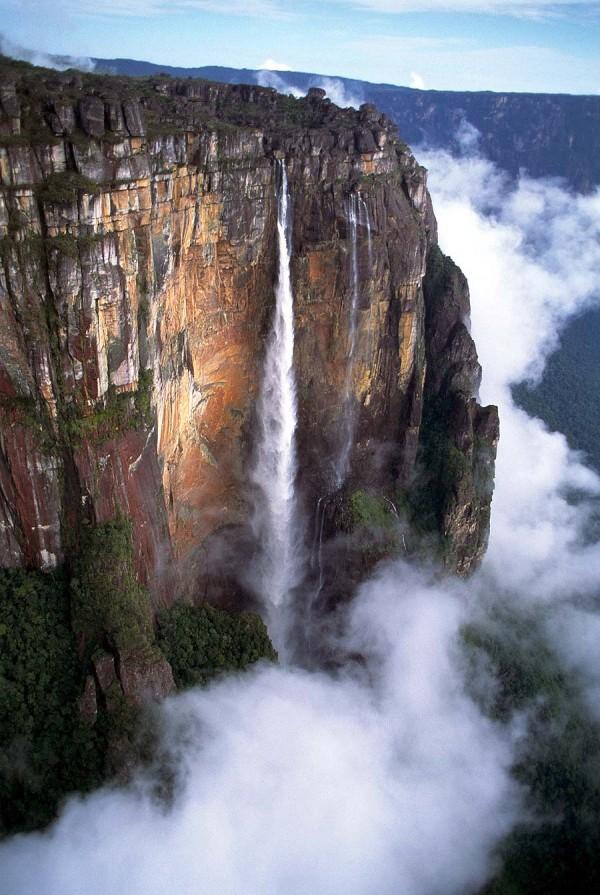 Angel Falls (Salto Angel), Venezuela Waterfall