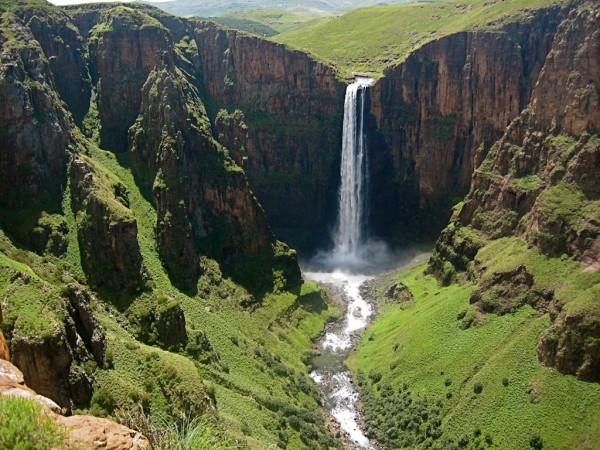 Maletsunyane Falls, Lesotho, South Africa Waterfall