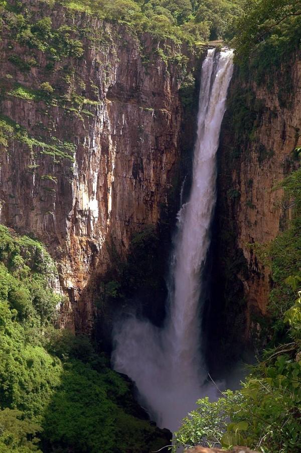 Kalambo Falls, Zambia, Tanzania, Waterfall