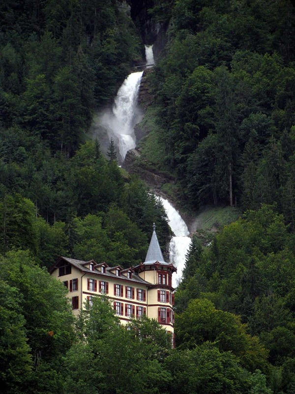 Giessbach Waterfalls, Switzerland Waterfall