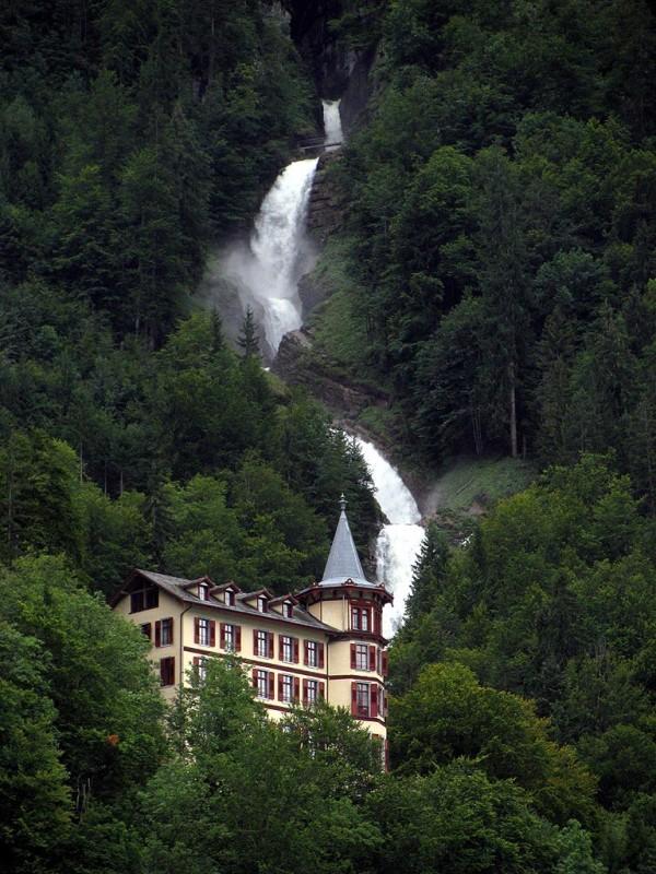 Giessbach Waterfalls, Switzerland Waterfall