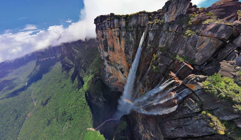 Angel Falls Venezuela Top View