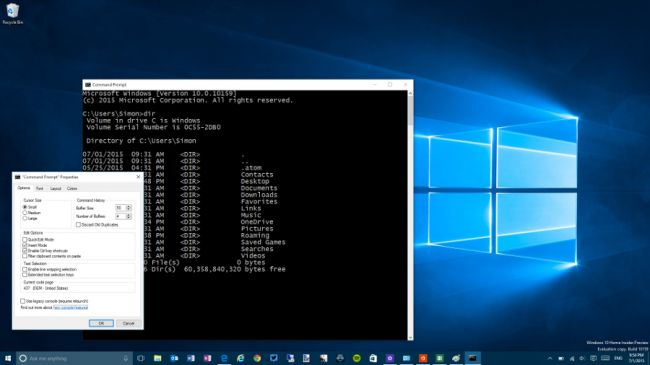 command prompt windows 10 new revamped