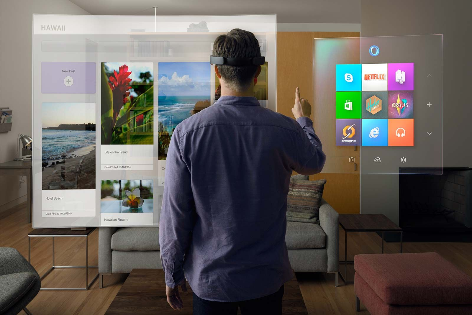 hololens augmented reality windows 10 new