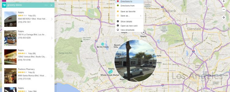 bing maps preview new redesign 2015