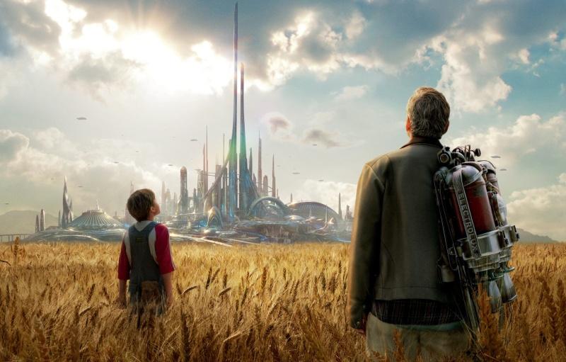 Tomorrowland Movie Screen Poster Background Screenshot