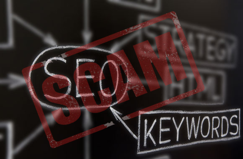 seo scam keywords