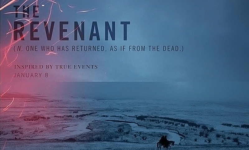 The Revenant 2015 Movie Poster