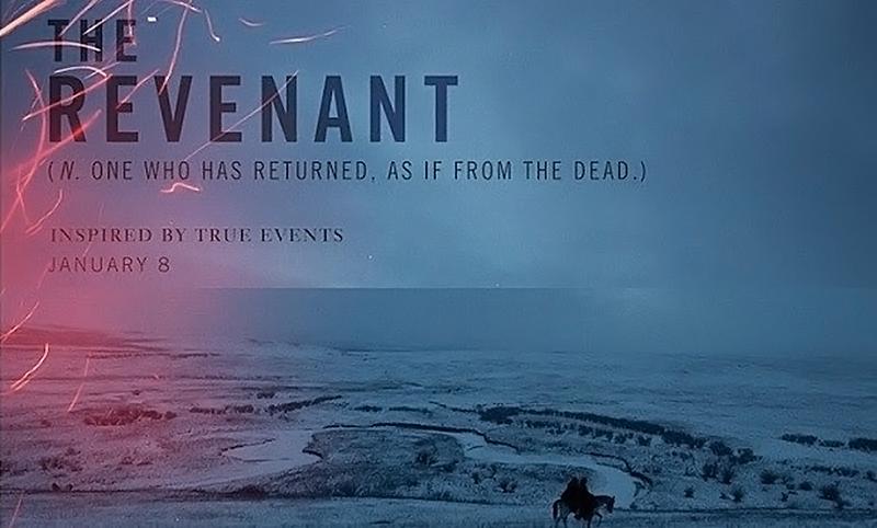 The Revenant 2015 Movie Poster