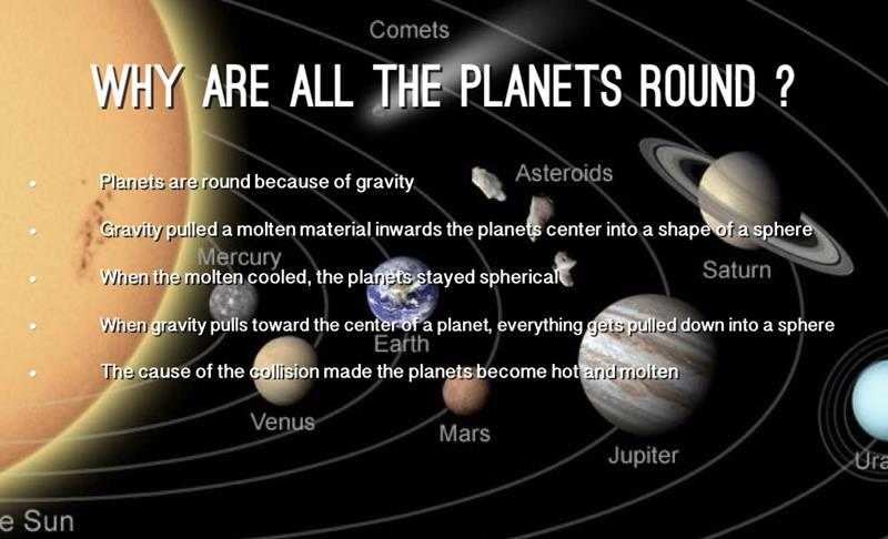 round planets