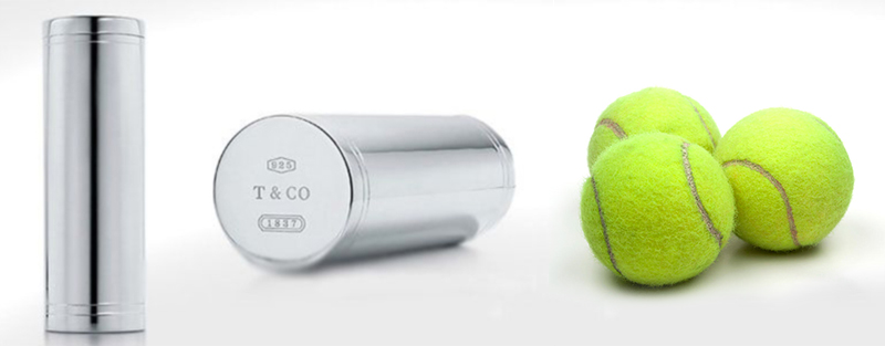 Tiffany Tennis Ball Can – $1,500