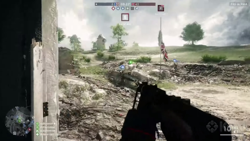 battlefield 1 gameplay video pre-alpha 2