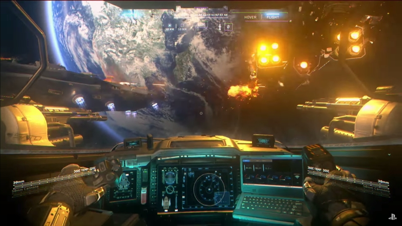 call of duty infinite warfare ship assault gameplay screenshot 2