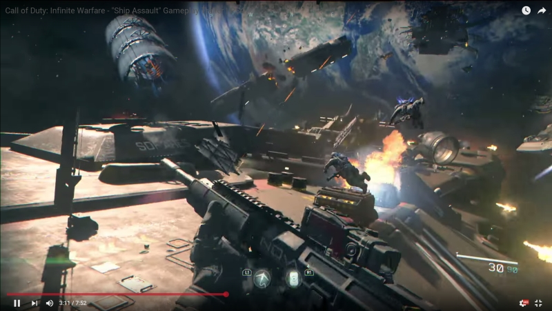 call of duty infinite warfare ship assault gameplay screenshot