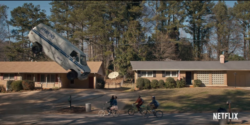 stranger things screenshot 3 van