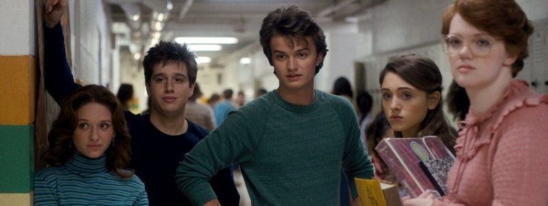 stranger things show screenshot 4 highschool
