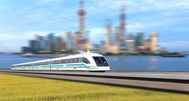 superconducting-maglev-train