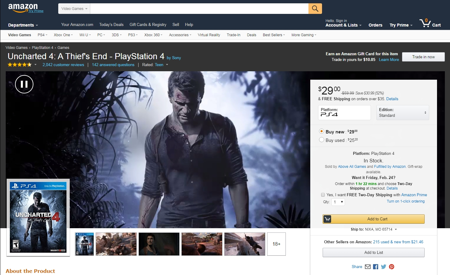 uncharted-4-amazon-redesign-video-background