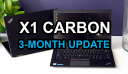 ThinkPad X1 Carbon Gen 4 2017 Ultrabook Laptop Review: 3 Month Update
