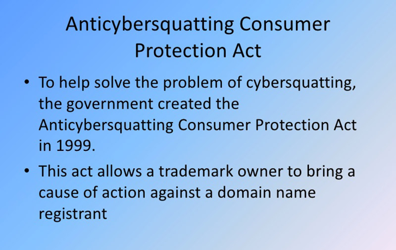 anticybersquatting-consumer-protection-act-of-1999
