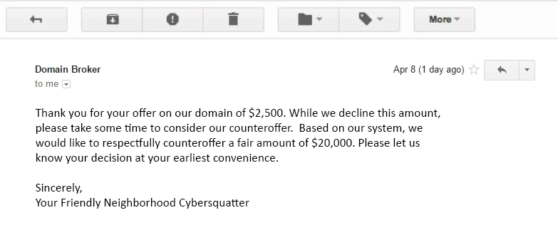 cybersquatter-email-paper-trail