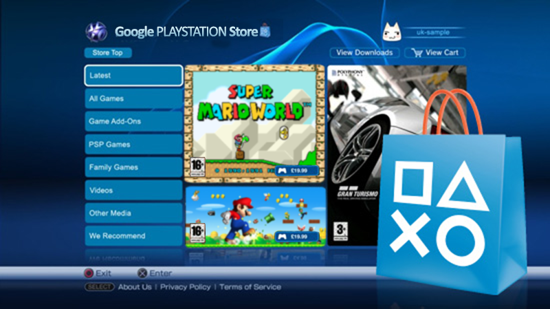 google-playstation-store
