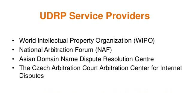 udrp-service-providers