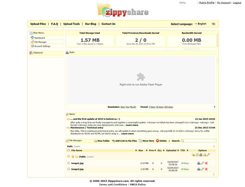 zippyshare-admin