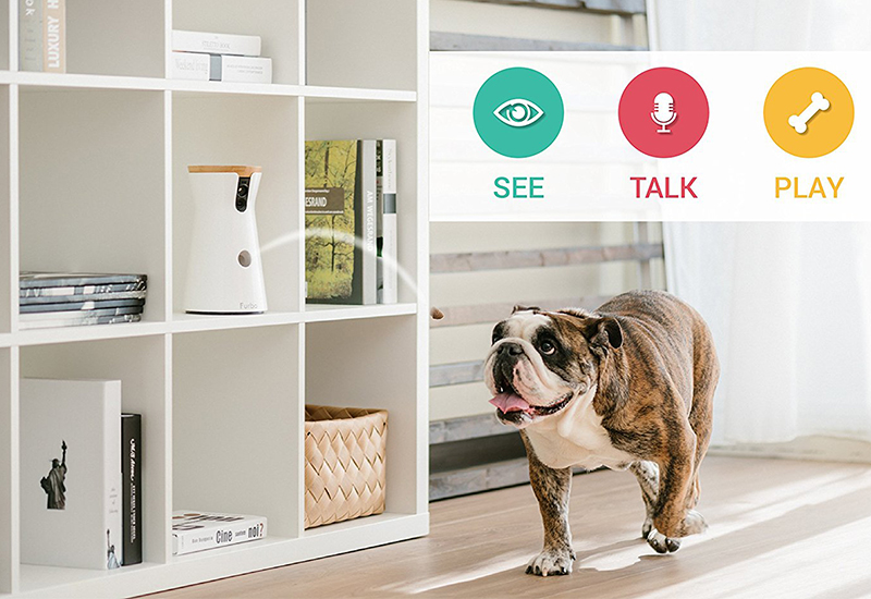 Treat Tossing Furbo Dog Camera - For the canine obsessed