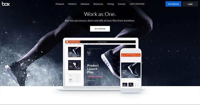 Box Home Page