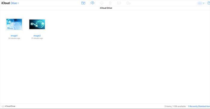 iCloud Admin Page