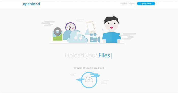 openload Home Page