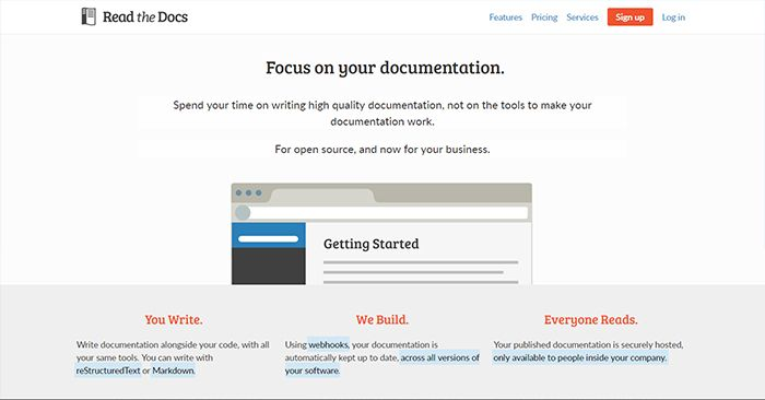 Read the Docs Home Page