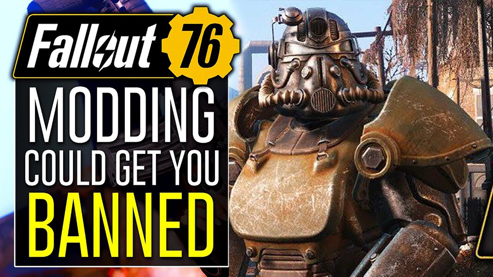 Using Mods Can Get You Banned In Fallout 76