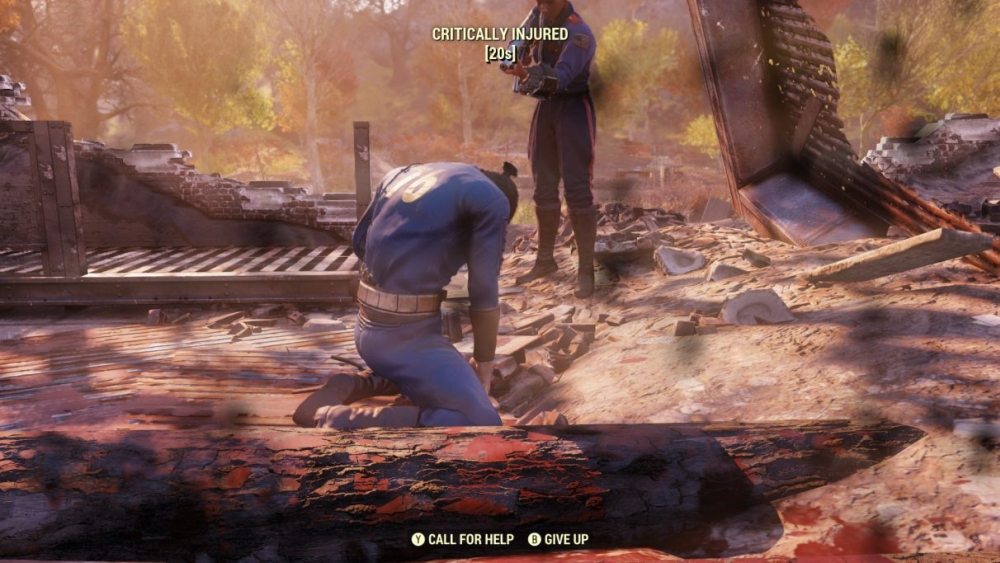 Fallout 76 Eating, Drinking, And Diseases is Annoying