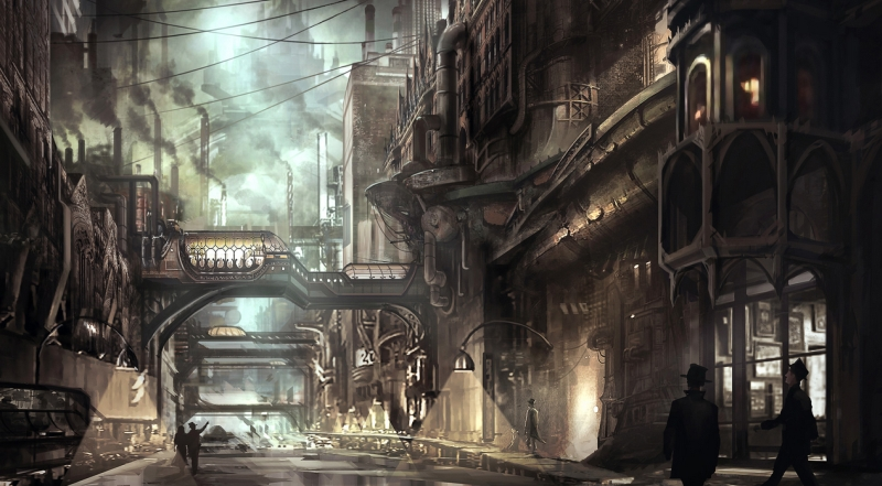 steampunk-city
