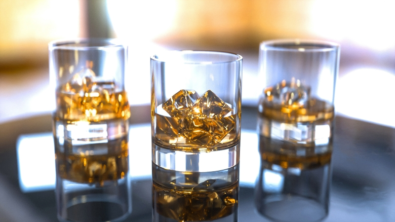 whiskey-glasses-4k-rendering